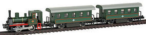 Kato Pocket Line Steam Train N Scale Model Train Set #105001