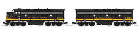 Kato EMD F7 A/B Set Northern Pacific 6012A/B N Scale Model Train Diesel Locomotive #1060422