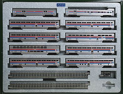 Kato USA Inc El Capitan 10-Car Passenger Set - Amtrak -- N Scale Model Train Passenger Car -- #106079