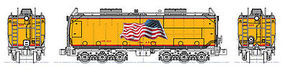 Kato Auxillary Water Tender Set Union Pacific N Scale Model Train Diesel Locomotive #106085