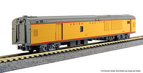 Kato Union Pacific Excursion Train 7-Car Set N Scale Model Train Set #106086