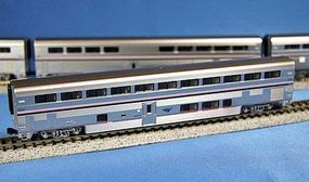 Kato Amtrak Superliner 4-Car Set A Phase IVb N Scale Model Train Passenger Car #1063515