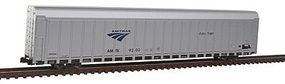 Kato Aluminum Enclosed Auto Carrier 4-Pack Amtrak Set #1 N Scale Model Train Freight Car #1065501