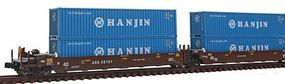 Kato Gunderson Maxi-I 5-Unit Double-Stack Well Car N Scale Model Train Freight Car #1066155