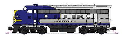 Kato Bluebonnet F7 Diesel Freight Train Only Set Santa Fe N Scale Model Train Set 1066273