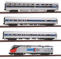 Kato Amtrak 40th Anniversary Train-Only Amtrak #156 N Scale Model Train Set #10662861