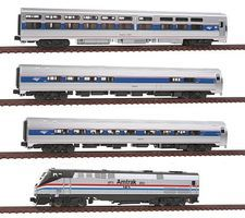 Kato Amtrak 40th Anniversary Train-Only Set Amtrak #145 N Scale Model Train Set #10662863