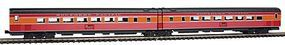 Kato Streamlined Pullman-Standard Articulated Coach N Scale Model Train Passenger Car #1066308