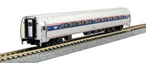 Kato Amfleet I Phase VI Coach Set #82039, 82755 N Scale Model Train Passenger Car #1068002