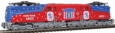 Kato USA Inc GG1 Conrail Bicentennial #4800 -- N Scale Model Train Electric Locomotive -- #1372015