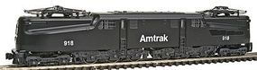Kato GG1 Electric Standard DC Amtrak #918 (black) N Scale Model Train Electric Locomotive #1372022