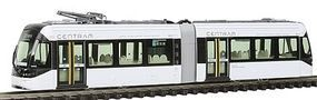 Kato Centram Light Rail Vehicle LRV Streetcar 9001 (white) N Scale Model Train Streetcar #148021