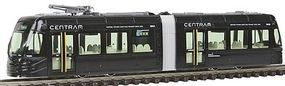 Kato Centram Light Rail Vehicle LRV Streetcar 9001 (black) N Scale Model Train Streetcar #148023
