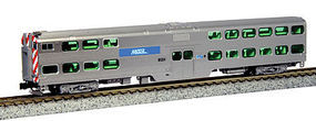 Kato Nippon-Sharyo Gallery Bi-Level Commuter Cab Coach N Scale Model Train Passenger Car #1560961