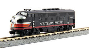 Kato EMD F3A Southern Pacific #6101 Black Widow N Scale Model Train Diesel Locomotive #1761115