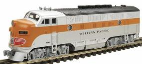 Kato Diesel F3A California Zephyr, DCC ready, powered Western Pacific #803 - N-Scale