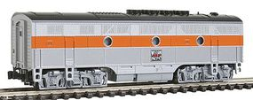 Kato Diesel F3B California Zephyr, DCC ready, Powered Western Pacific - N-Scale