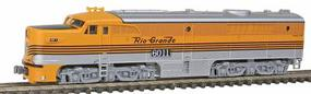 Kato Diesel Alco PA-1 Powered DCC ready Denver & Rio Grande Western #6011 (Aspen Gold) - N-Scale