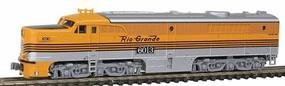 Kato Diesel Alco PA-1 Powered DCC ready Denver & Rio Grande Western #6013 (Aspen Gold) - N-Scale