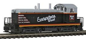 Kato EMD NW2 Chicago, Burlington & Quincy #9211 N Scale Model Train Diesel Locomotive #1764368