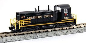 Kato EMD NW2 Standard DC Northern Pacific #102 N Scale Model Train Diesel Locomotive #1764371
