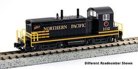 Kato EMD NW2 Standard DC Northern Pacific #106 N Scale Model Train Diesel Locomotive #1764372