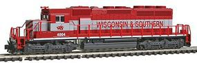 Kato EMD SD40-2 Wisconsin & Southern N Scale Model Train Diesel Locomotive #1764814