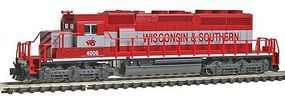 Kato EMD SD40-2 Wisconsin & Southern N Scale Model Train Diesel Locomotive #1764815