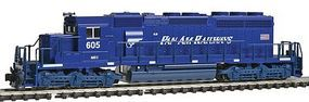 Kato EMD SD40-2 Early Production Pan Am Railways MEC N Scale Model Train Diesel Locomotive #1764816