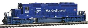 Kato EMD SD40-2 Early Production Pan Am Railways MEC N Scale Model Train Diesel Locomotive #1764817
