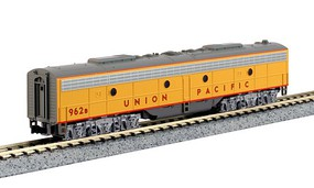 Kato EMD E8/9B - Standard DC Union Pacific 962B (Late Passeneger Scheme, Armour Yellow, gray, red) - N-Scale
