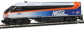 Kato Motive Power Industries MP36PH Metra #426 N Scale Model Train Diesel Locomotive #1766122