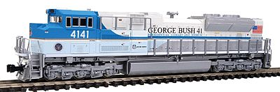 Kato Diesel EMD SD70ACe, Powered, DCC Ready Union Pacific #4141 George Bush 41 - N-Scale