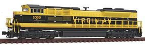 Kato EMD SD70ACe Virginian #1069 N Scale Model Train Diesel Locomotive #1768505