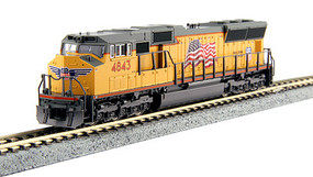 Kato EMD SD70M DCC UP 4843 - N-Scale
