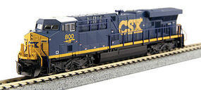 Kato GE ES44AC CSX #800 N Scale Model Train Diesel Locomotive #1768915