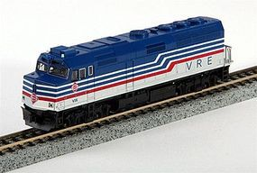 Kato EMD F40PH Virginia Railway Express N Scale Model Train Diesel Locomotive #1769001