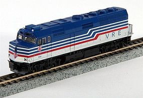 Kato EMD F40PH Virginia Railway Express #V34 N Scale Model Train Diesel Locomotive #1769002