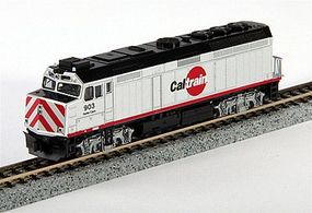 Kato EMD F40PH Commuter Version Caltrain #903 N Scale Model Train Diesel Locomotive #1769003