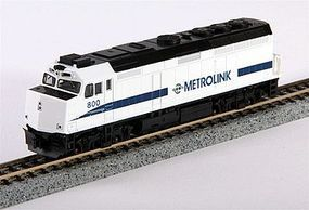 Kato EMD F40PH Southern California Metrolink SCAX N Scale Model Train Diesel Locomotive #1769005