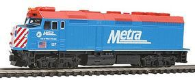 Kato EMD F40PH Metra Chicago #137 N Scale Model Train Diesel Locomotive #1769101