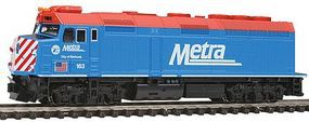 Kato EMD F40PH Metra Chicago #163 City of Elmhurst N Scale Model Train Diesel Locomotive #1769103