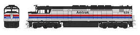 Kato EMD SDP40F Type I (Standard DC) Amtrak #529 Phase II N Scale Model Train Locomotive #1769203
