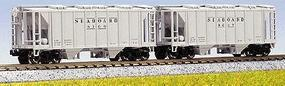 Kato AC&F 70-Ton Closed-Side Covered Hopper Seaboard Air N Scale Model Train Freight Car #1860209