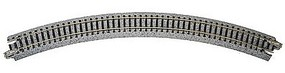 Kato Curved Roadbed Track Section Unitrack 45-Degree N Scale Nickel Silver Model Train Track #20120
