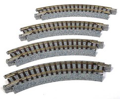 Kato Compact Curve 4 5/8 4/ - N-Scale
