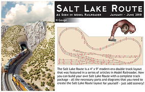 Kato Salt Lake Rt Track Pack - N-Scale