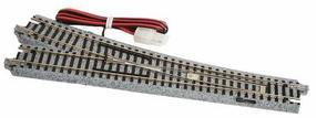 Kato #6 Electric Remote Turnout Unitrack Right Hand N Scale Nickel Silver Model Train Track #20203