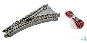 Kato Compact Turnout R150-45 Unitrack Right Hand N Scale Nickel Silver Model Train Track #20241