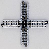 Kato Track Crossing - 90-Degree, 4-7/8 124mm N Scale Nickel Silver Model Train Track #20320